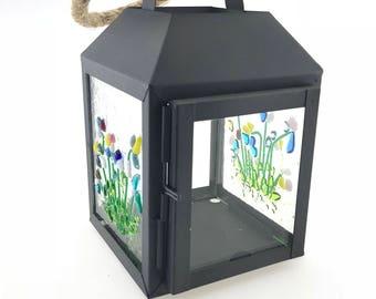Summer flowers lantern