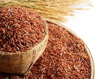 "50g Brown Rice, Thai rice name ""Khao Sangyod Muang Patthalung"", Songyod Rice"