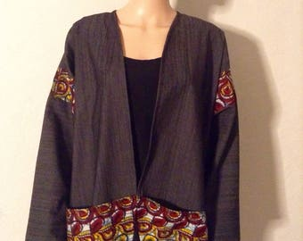 Unisex kimono 52/50/48/46/44/42/40/38/36 certified wax cotton denim