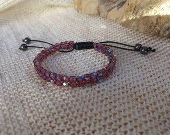 Crystal Swarovski bracelet, organic jewelry eco-friendly, organic jewelry, for organic organic jewelry bracelet