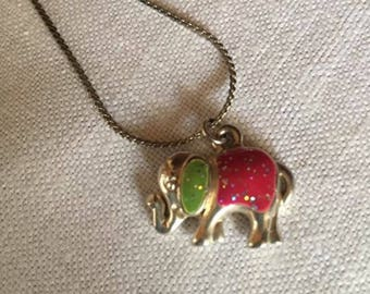 Cute Elephant Pendant