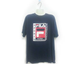 Vintage FILA SPORTS INTERNATIONAL t shirt