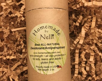 Best All Natural DEODORANT- No Aluminum