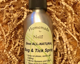 Best ALL NATURAL Bug Spray & Tick Repellent