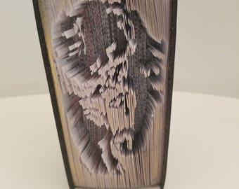 Jesus2 - Mini - Custom Book Art