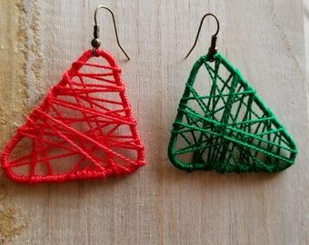 String Art Earrings