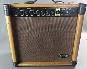 Stagg AA 40 R EU Spring Reverb 40 W acoustic guitar amplifier