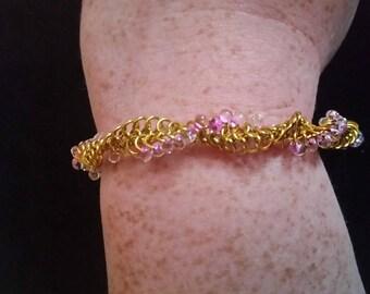 Pink lemonade DNA bracelet