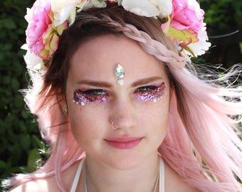 Flower Crown Headband Headpiece Festival Wear