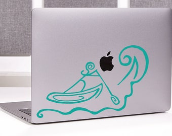 White Water Paddle Boarding Vinyl Decal