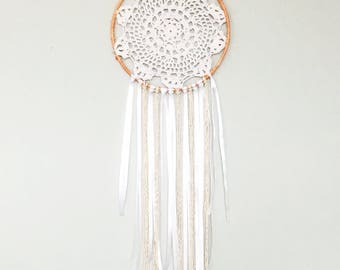 how to make a lace dreamcatcher
