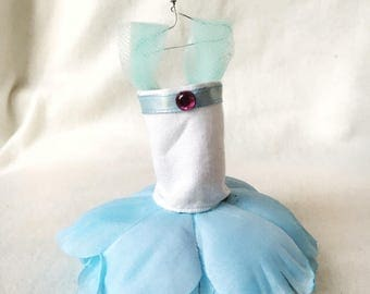 Fairy Dress; light blue, white, and pink