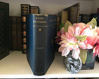 1886 Anna Karenina by Leo Tolstoy (Tolstoi)