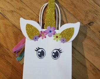 Unicorn Favor Bags (set of 12)