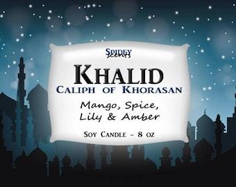 Khalid - 8 oz 100% Soy Candle