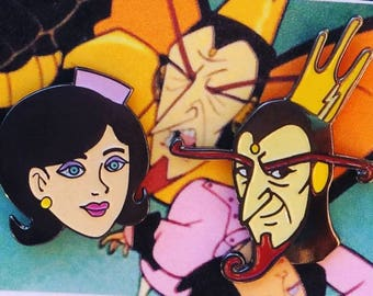 Dr. Girlfriend and the Monarch Pin Set
