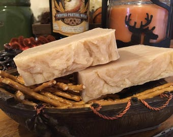 Unscented Pretzel Wheat Beer Soap