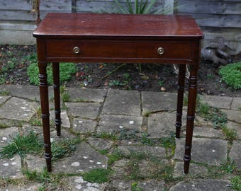 Victorian Mahogany Console Table