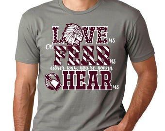 Happy Valley High School Spirit Shirts, Warrior's Spirit Shirt