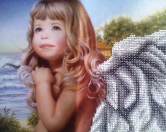 Beaded Painting, Picture Little Angel
