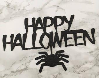 Spider Halloween Cake Topper
