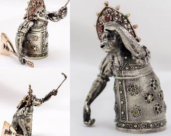Bronze Bell handmade Monkey sjelfi