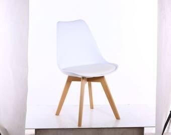 MOF Tulip Chair Modern Living Room Dining Room Chair x2, x4