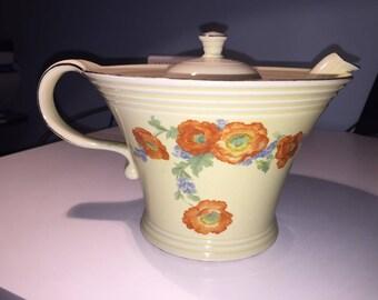 Vintage 1940's Jewel Tea Hall China Company Teapot