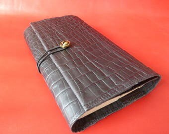Height 18 cm books, book adaptable fancy cowhide leather