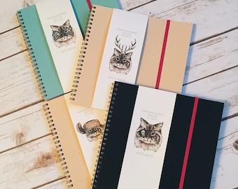 Sketchbook for watercolor