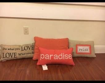 Decorative Letter Pillows