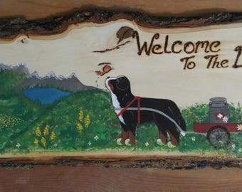 Rustic Wooden Kennel Signs