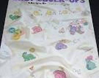 Cross Stitch Pattern Leisure Arts 2154 Baby Cover-Ups - 6 Designs
