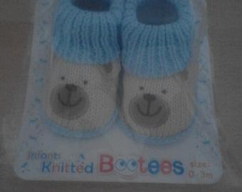Blue Bear Booties