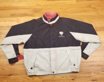 Vintage 1998 90s Masters Champion Golf Jacket Windbreaker Coat Size XL