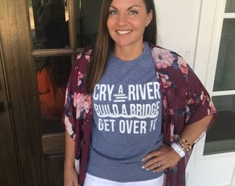 CRY A RIVER TEE