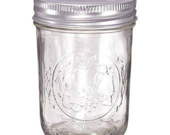 8 OZ mason jar candle