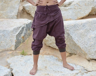 Harem pants, Yoga pants, Ninja pants, Hippie pants, men, women, handmade item