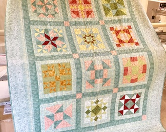 "Beautiful New Quilt Could Be Yours! Large (99"" x 70"")"
