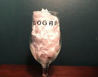 Personalized English Pub Glass