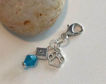 Charm for dog or cat collar