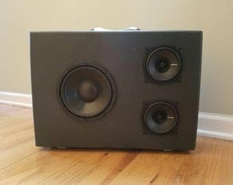 Small hand made Bluetooth speaker