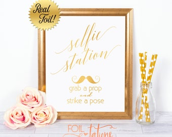 Wedding Sign, Photobooth Sign, Gold, Silver, Wedding, Photo Booth, Custom Foil Sign