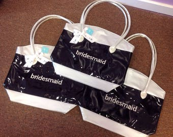 Bridesmaid Patent Leather Totes
