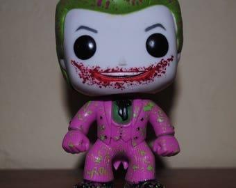 Custom Splatter Paint Original 1966 Joker Pop Vinyl