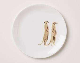 Holly Frean MEERCATS side plate