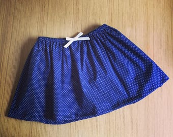 Blue girl skirt