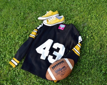 Pittsburgh Steelers Inspired Sweater Jersey