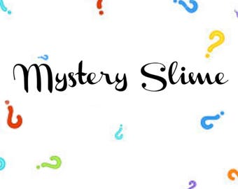 4oz Mystery slime package
