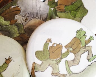 Frog and Toad Pins